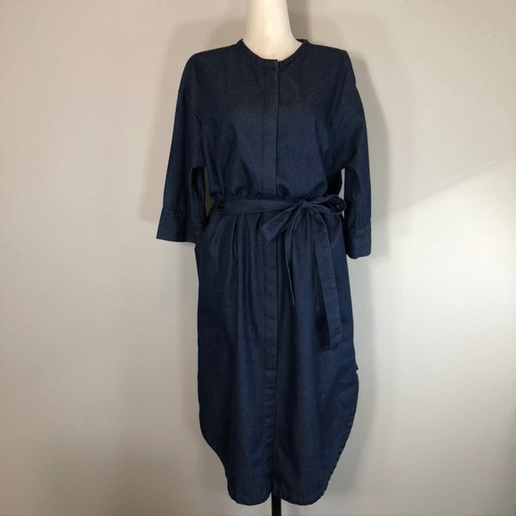 Elk the Label Chambray Dress with Pockets